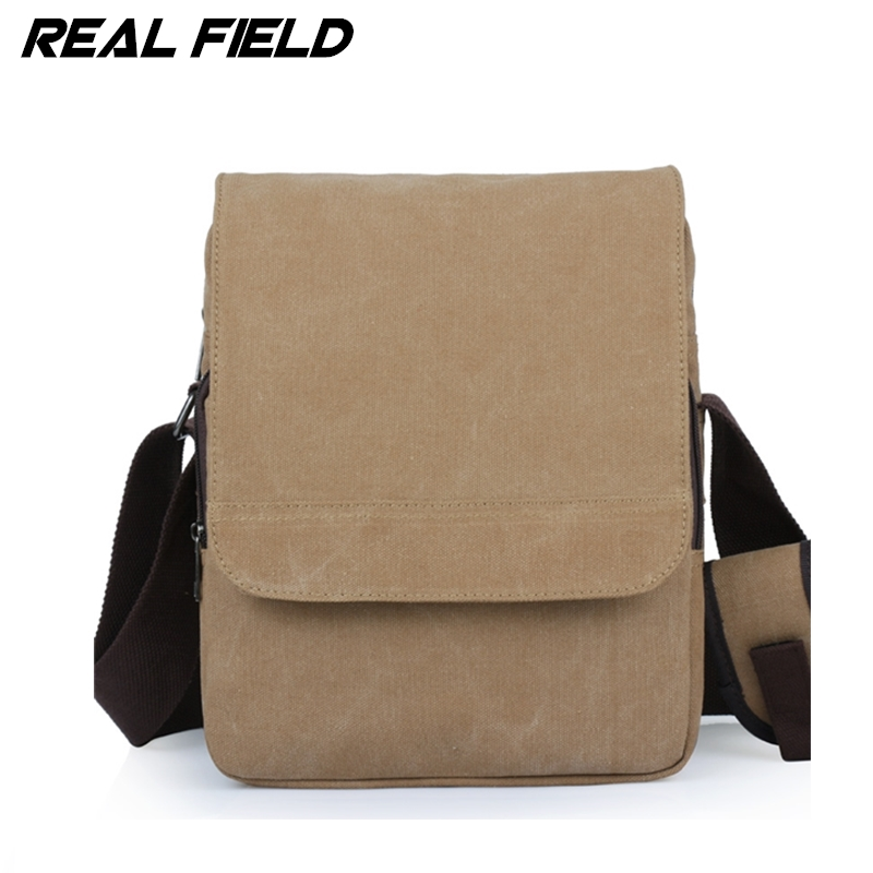 Real Field RF Men Vertical Canvas Messenger Bag Student School the trend of Casual Male Shoulder Crossbody Bolsa Handbags 094 6 5 adult electric scooter hoverboard skateboard overboard smart balance skateboard balance board giroskuter or oxboard