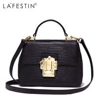 LAFESTIN Famous Doctor Handbags Women Designer Real Leather Bags Shoulder Luxury String Totes Multifunction Brands Bag