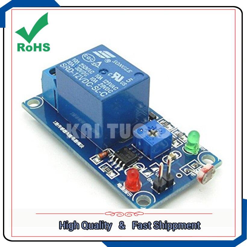 Photodiode sensor plus 12 V relais lichtschalter modul, um das licht ...