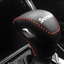 Free Shipping High Quality Cowhide Top Layer Leather Automatic Gear Shift Collars Gear Cover For 2018 KIA Sportager николай гарин михайловский птичий язык