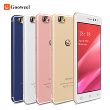 Nouveau Gooweel M7 3G Smartphone 5.5 pouce IPS écran MTK6580 quad core Mobile téléphone GPS 1 GB RAM 8 GB ROM WCDMA téléphone portable
