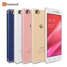 Новый Gooweel M7 3 г смартфон Android 5.1 5.5 дюймов ips-экран MTK6580 Quad Core Мобильный телефон GPS 1 ГБ оперативной памяти 8 ГБ ROM WCDMA сотовый телефон