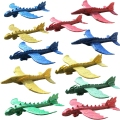 48 см ручной запуск Строительная интерьерная пена EPP самолет Динозавр Поезд Дракон модель самолета уличные обучающие игрушки