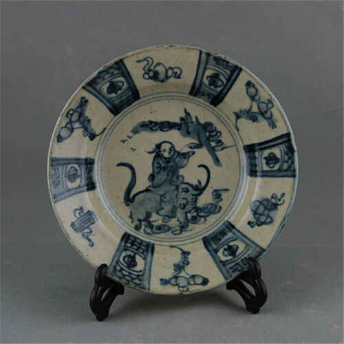antique Blue and white porcelain in the Ming dynasty in ancient China