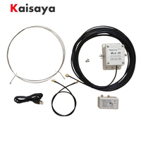 MLA 30 ring active receiving low noise MW SW balcony erection antenna 100kHz 30MHz For HA SDR Shortwave radio H3 003