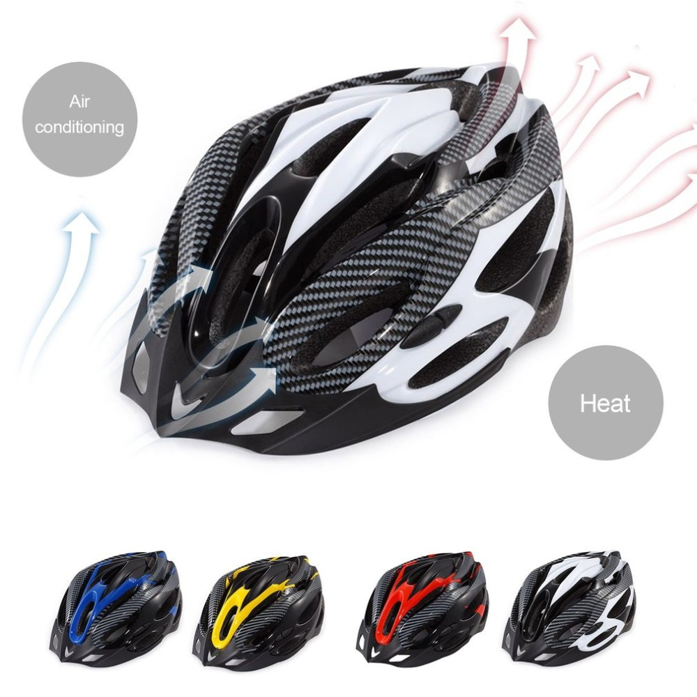 Bike Bicycle Riding Protective Helmet Integrated Molding Outdoor Sports Equipment Outer Shell With Impact-absorbing Foam