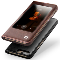 New For Huawei Honor 8 Pro Honor8 Pro QIALINO Brand Natural Genuine Leather Case Smart Phone
