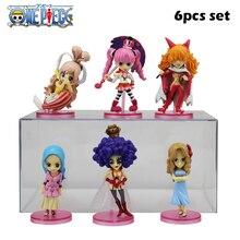 One Piece Anime figure 6pcs