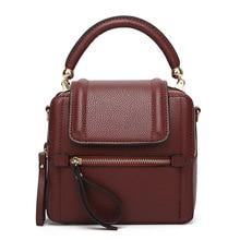 Crossbody Bag for Women Bolsas Femininas Moda Mujer 2019 Shoulder Bag Sac A Main Torebki Damskie Cover Messenger Genuine Leather цена