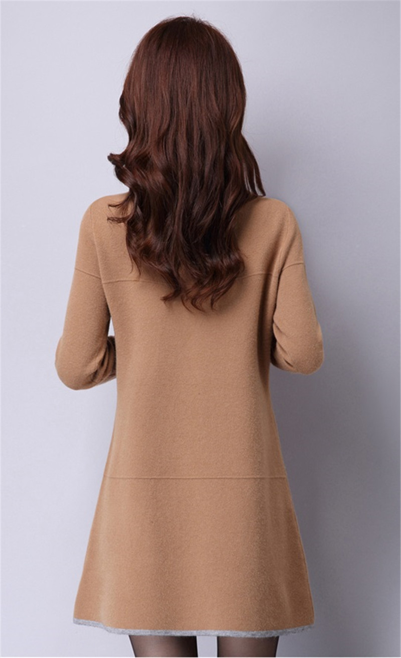 Last Long-Sleeve Vestido Sweater 13
