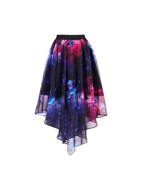 Сексуальные девушки Готический юбки женские Harajuku трапециевидной формы вечерние короткая юбка дамы Высокая талия плиссированные старинные Асимметричная Юбка Saia