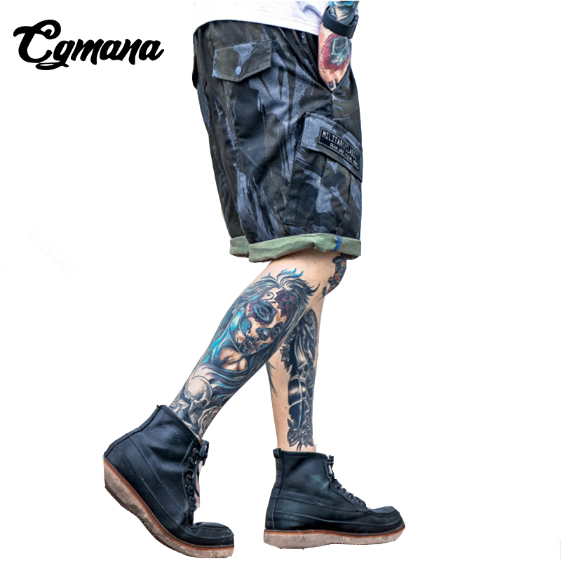 CGmana 2018 High Quality Mens Military Shorts Summer Cotton Shorts Men Loose Casual Trou ...