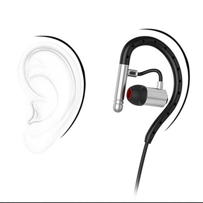 ФОТО Noise Cancelling Sports Bluetooth Headset Sweatproof Voice Control Handsfree Wireless Earphones OutdoorRunning Music Earphone