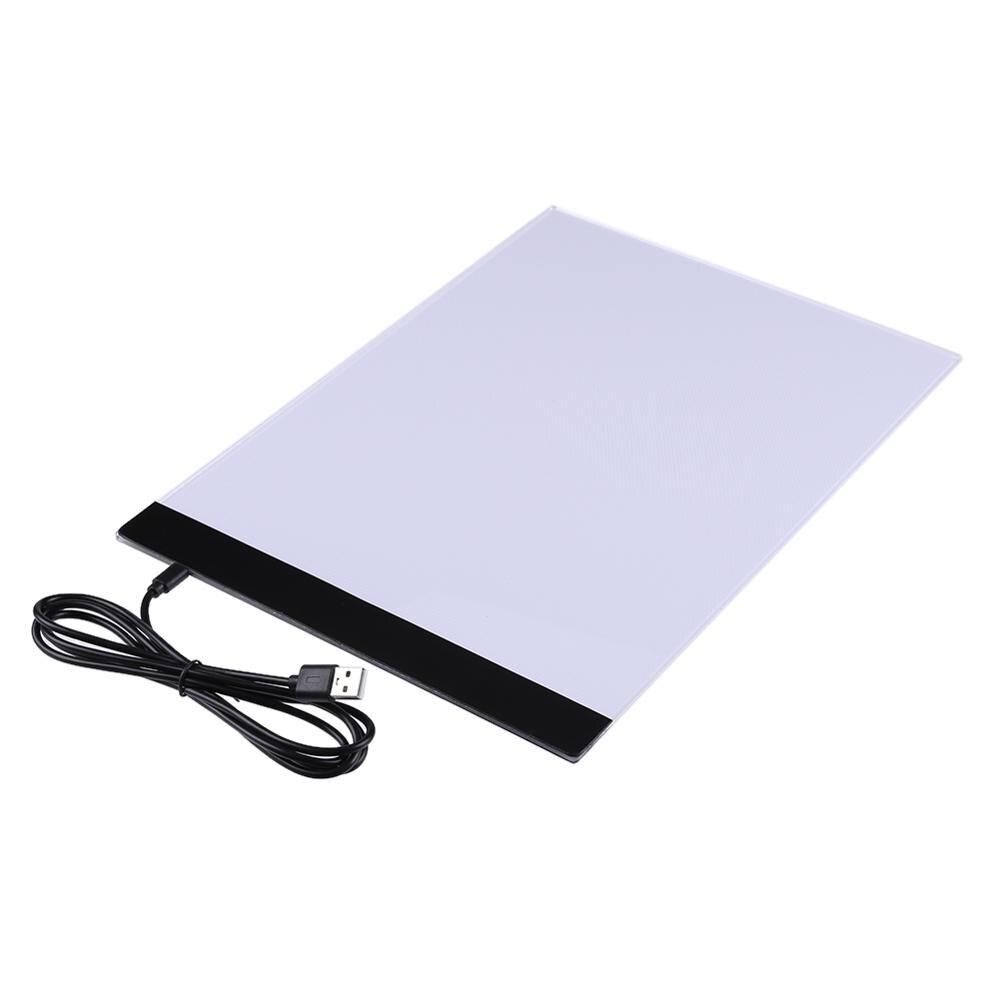 USB LED A4 Paper Copy Pad Desk Art Drawing Tracing Stencil Writing BoardUSB LED A4 Paper Copy Pad Desk Art Drawing Tracing Stencil Writing Board