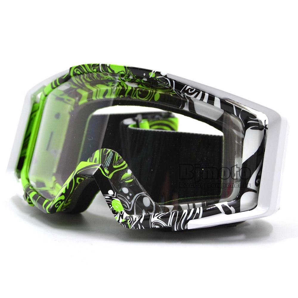 Mg-020 2016 красочные Винтаж прозрачные линзы Off Road мотокросса Очки для мотоцикла Байк