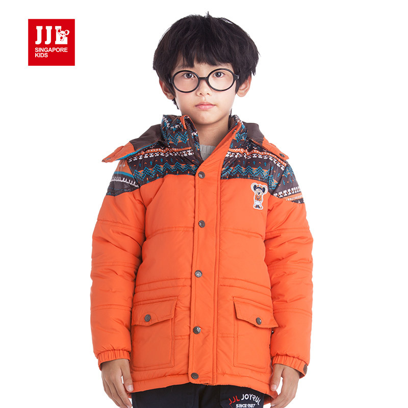 winter boys jackets teenage boys coats kids snowsuits winter jacket for boy outwear kids parka lengthen boys clothing 2016