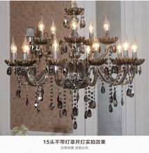 Lighting chandelier living room lamp French crystal Light chandelier Modern atmosphere simple bedroom restaurant chandeliers new fashion chandeliers crystal pendant lamp light for living room bedroom 110v 24