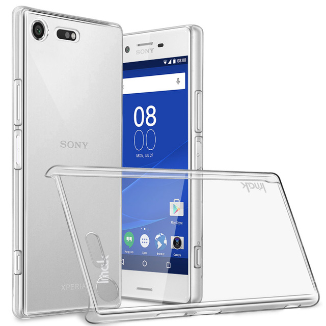 separation shoes f1082 b3beb US $4.32 |sFor Sony Xperia XZ Premium Case IMAK Clear Crystal PC Plastic  Hard Back Cover Phone Case For Sony Xperia XZ Premium 5.5 inch-in ...