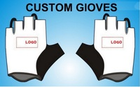 2016 Custom Full Fingers Cycling Gloves MTB Breathable Skidproof Wearable Ciclismo Luva Bike Gloves Slip High