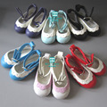 Doll Accessories Mini Shoes wholesale ulticolor 6.5cm leather shoes For 1/4 BJD Doll and 16 Inch Sharon doll