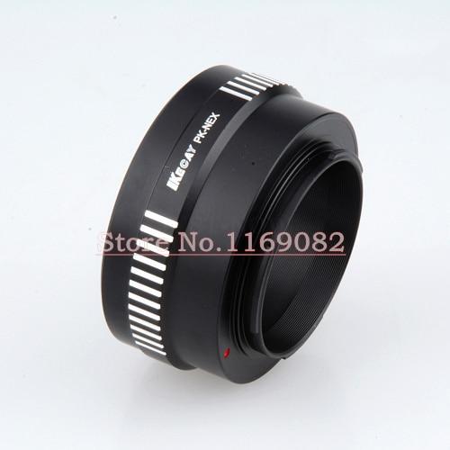 Kecay PK-NEX montaje PK lente a NEX e anillo adaptador para NEX-F3 Nex-5N NEX5C Nex-7 PK-NEX