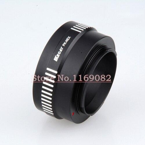 Kecay PK - NEX PK mont Lens pour NEX E monture bague adaptatrice pour NEX - f3 NEX - 5n NEX5C Nex-7 PK - NEX