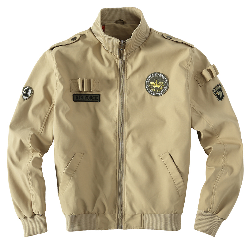 Aliexpress.com : Buy Mens Air Force Jackets Eagle Embroidery Pilot ...