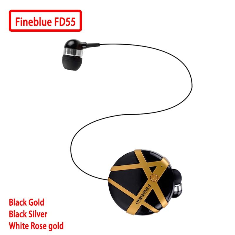 Fineblue FD55 Mini Headset Bluetooth Earphone Portable Fashion Earphones Noise-cancelling Vibration to Remind