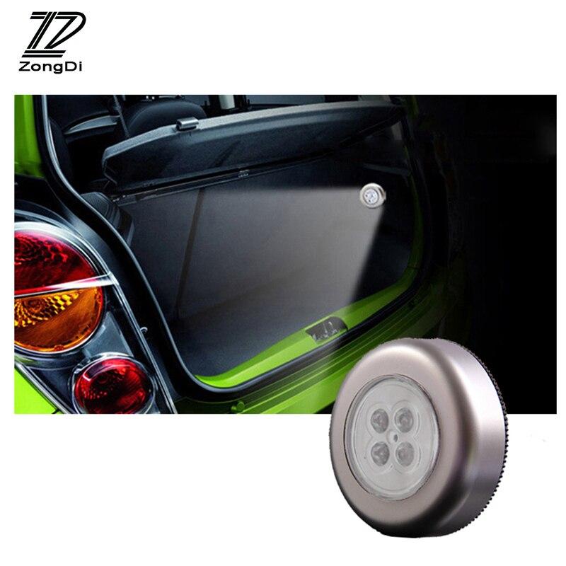 ZD 1X For Audi A4 B7 B5 A6 C6 Q5 Honda Civic 2006-2011 Fit Accord CRV Nissan Juke Car Interior Grille Reading Lamp Decoration