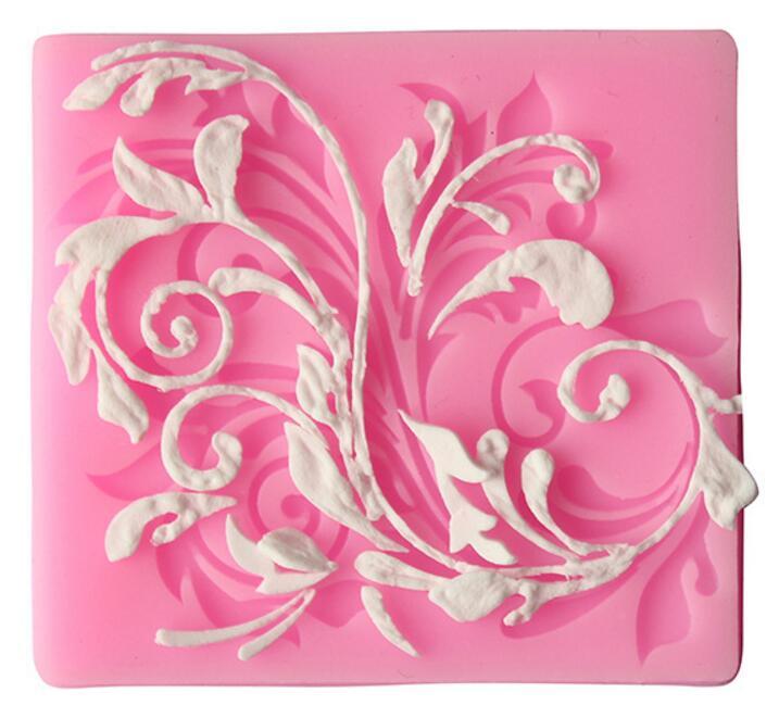 2017 Rushed New Fda Fondant Cake Decorating Tools Dessert Decorative Mold Diy Pattern Models Liquid Baking - Venisi Silicone mold firm store