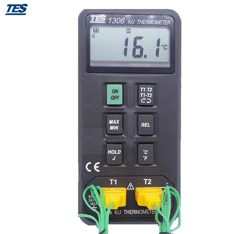 TES-1306 Digital Thermometer (K/J Type Thermocouple Input)TES-1306 Digital Thermometer (K/J Type Thermocouple Input)