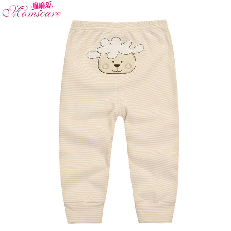 Colorful cotton autumn pants new boys and girls spring and autumn summer trousers baby big PP open file baby romper(China)