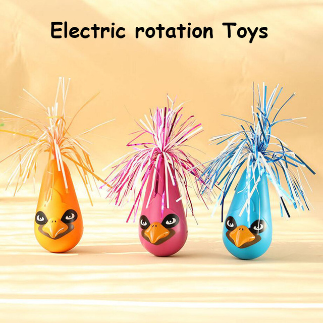 Electric Rotating Cat Dog Toy Multi-function Multicolor Pet Cat Feather Toy Puppy Chihuahua Toys Gatos Katten Speelgoed