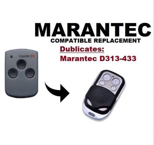 Marantec D313 Compatible Garage/Gate Remote Digital/Comfort Cloner fixed code 433.92mhz marantec digital 302 d304 d313 compatible garage gate remote digital comfort cloner