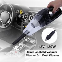 Portable Low Noise 12V-120W   Auto   Car Mini Handheld Vacuum Cleaner Dirt Dust Cleaner Collector Cleaning Appliances