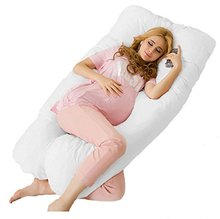 New Maternity U Shaped Body Pillows Body Pregnancy Pillow For Side Sleeper Removable Cover 130*70
