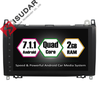 Android 7 1 1 2 Din 9 Inch Car DVD GPS Video Player For Mercedes Benz
