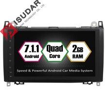 Android 7.1.1 2 Din 9 Zoll Auto DVD GPS Video Player Für Mercedes/Benz/Sprinter/Viano/Vito/b-klasse/B200/B180 CANBUS 2G RAM Radio