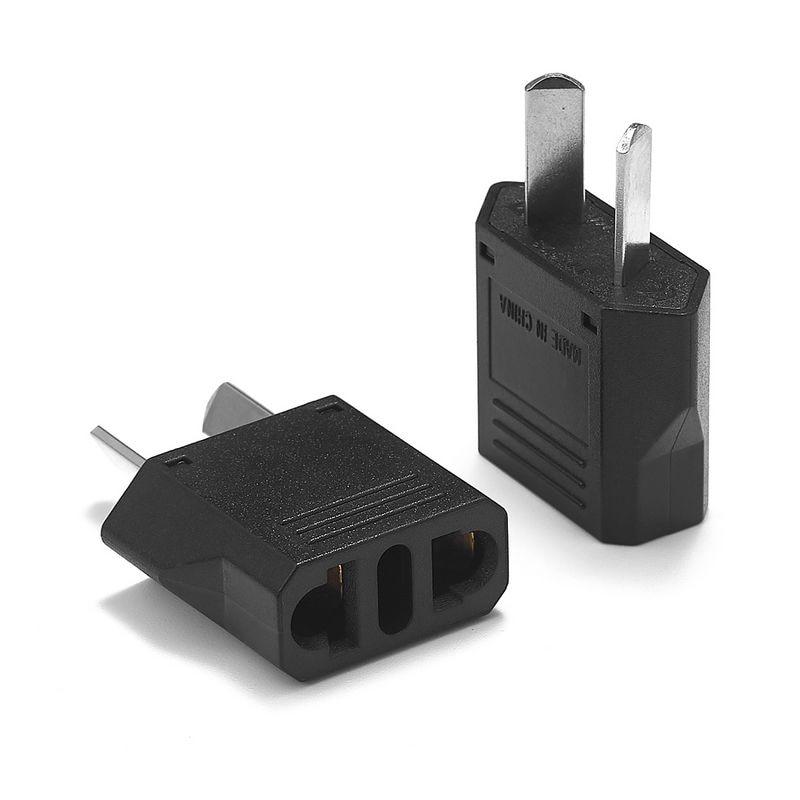 500pcs AU Travel Adapter American Japan US EU To AU Australia Electric Plug Adapter Power Charger Socket AC Converter Outlet