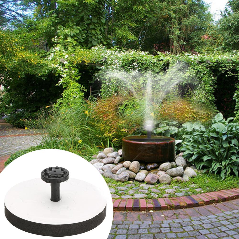 Buy garden round solar fountain water for Stor fur gartenteich