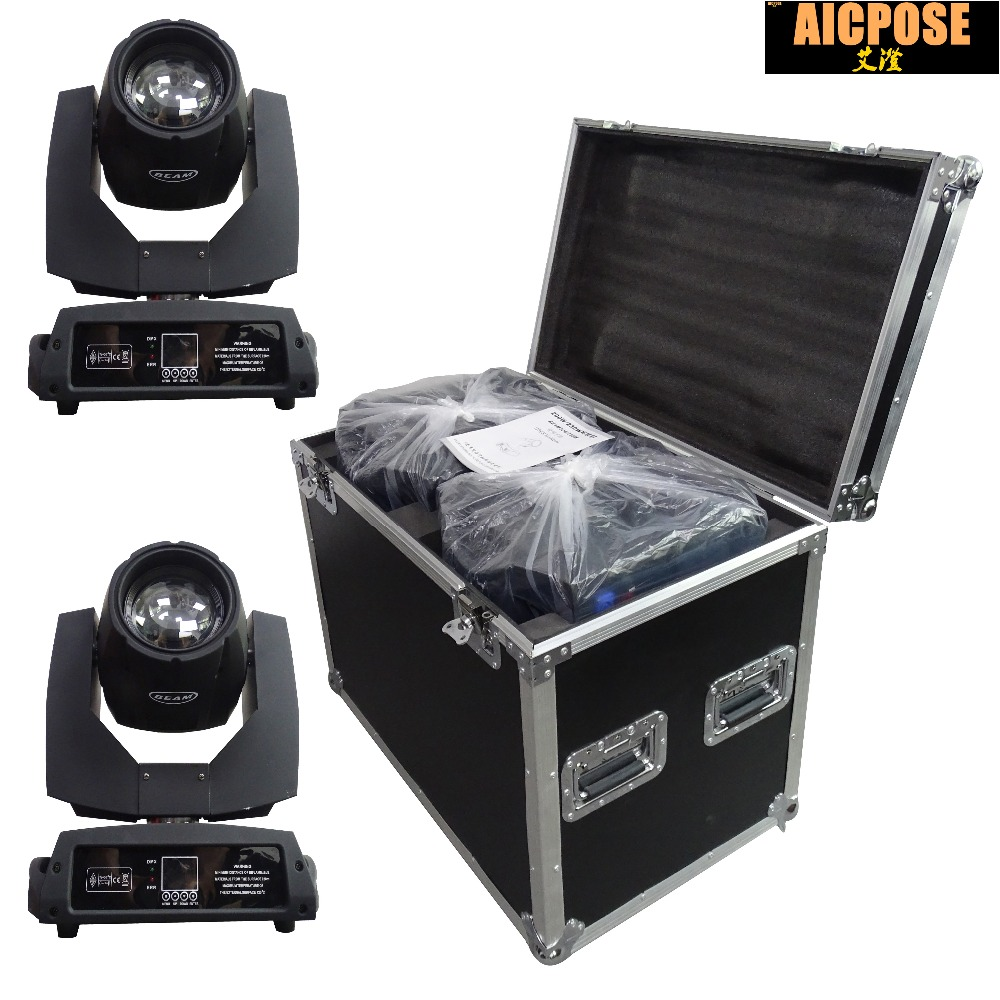 2pcs/lots 230w 7r Beam Light With Flight Case DMX512 Control Moving Head Lights Professional Stage Party Stage Lighting Effecte