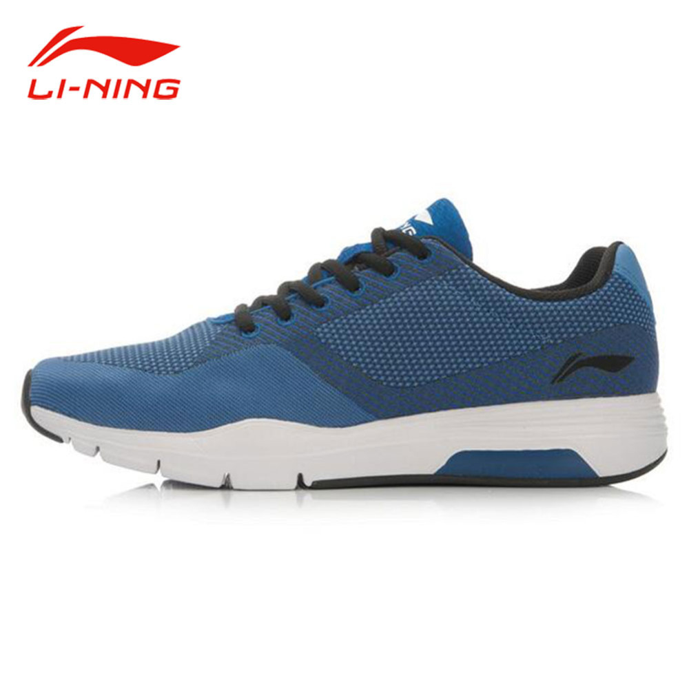 Li-Ning Men's Wearable Comfort Running Shoes Textile Breathable Sneakers LiNing Exercise Retro Sports Shoes ACGL047 original li ning men professional basketball shoes