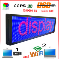 7 color LED outdoor display screen P10 doored sign head advertising propaganda window change many ways
