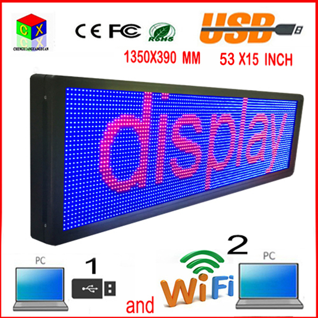 Full color LED  outdoor display screen P10 doored sign head advertising propaganda window  change many ways