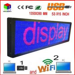 Pantalla LED de 7 colores al aire libre P10 doored sign head publicidad Ventana de propaganda cambiar muchas maneras