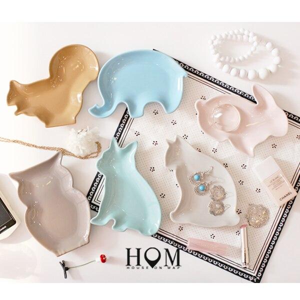 Животных мультфильм керамическая плита творческий дом посуда пластины десерт конфеты МИЛЫЙ кролик образная пластина Миндальное Печенье цветные блюдо