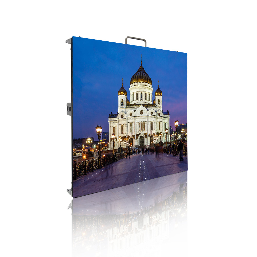 High performance P3.91 500x500mm outdoor led display monitorHigh performance P3.91 500x500mm outdoor led display monitor