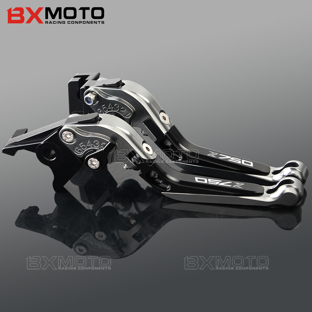 Motorcycle Brake and Clutch Lever For Kawasaki Z750 not Z750S 2007 2011 2012 Z650 2017 2018 Z 750 650 Brake clutch lever sets in Levers Ropes Cables from Automobiles Motorcycles