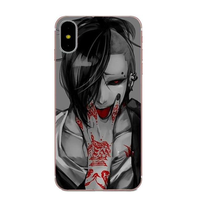 Tokyo Ghoul Case For Samsung Galaxy Note 5 8 9 S3 S4 S5 S6 S7 S8 S9 S10 mini Edge Plus Lite