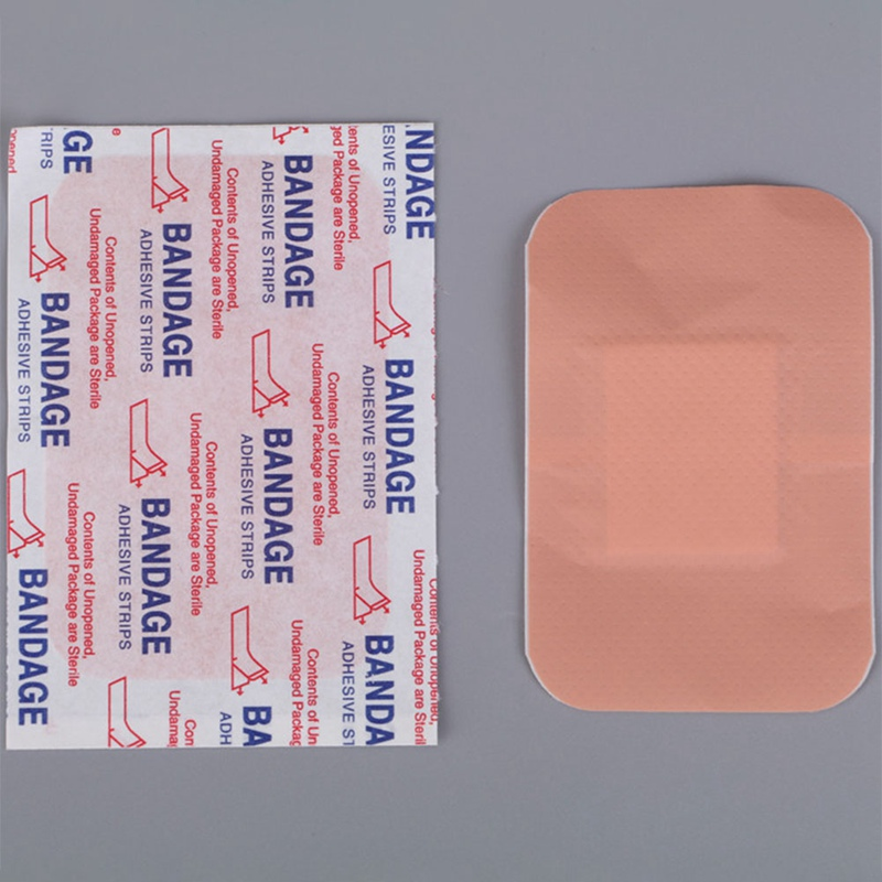 10Pcs /Pack Waterproof Breathable Band Aid Hemostasis Adhesive Bandages First Aid Emergency Kit For Kids Children